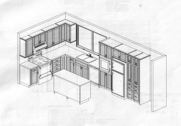 Plan de la cuisine p tunia cie for Plans de cuisine ouverte
